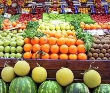 Una comida, una fruta