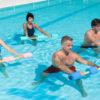 La gimnasia en el agua te pone en forma