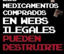 Campaña de concienciación contra la compra de medicamentos ilegales