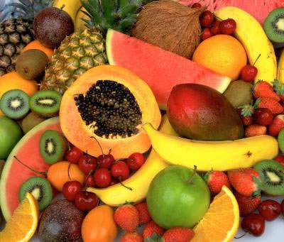 frutas vitaminas